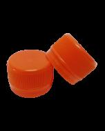 Capac prefiletat din plastic 28 mm portocaliu, cod DC01 portocaliu