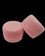 Capac prefiletat din plastic 28 mm roz, cod DC01 roz