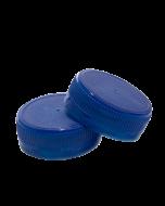 Capac plastic prefiletat D38 mm albastru, cod DC04 albastru