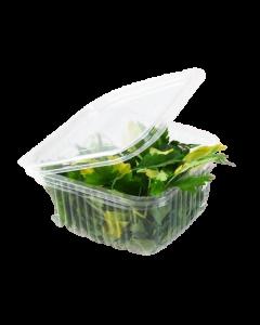 Caserola plastic cu capac 375 ml, cod CCP06