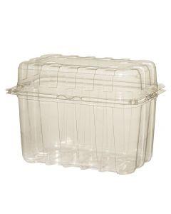 Caserola plastic cu capac pentru legume-fructe, cod CCP01