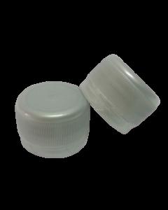 Capac prefiletat din plastic 28 mm gri, cod DC01 gri