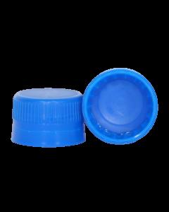 Capac plastic premium cu garnitura D28x18 albastru, cod DC03 albastru