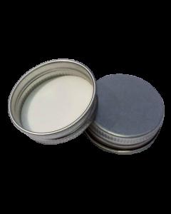 Capac aluminiu prefiletat D31*10 argintiu, cod DC19