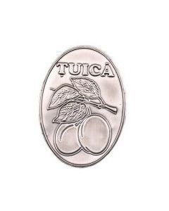 Eticheta metalica Tuica, cod EMT