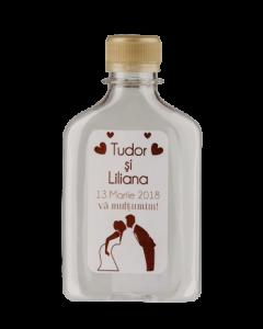 Sticla plastic 200 ml Flask, cod STP005