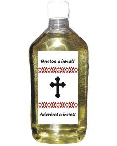 Sticla plastic 500 ml cu eticheta, cod PPP03