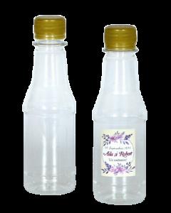 Sticla plastic 200 ml Conic, cod STP003